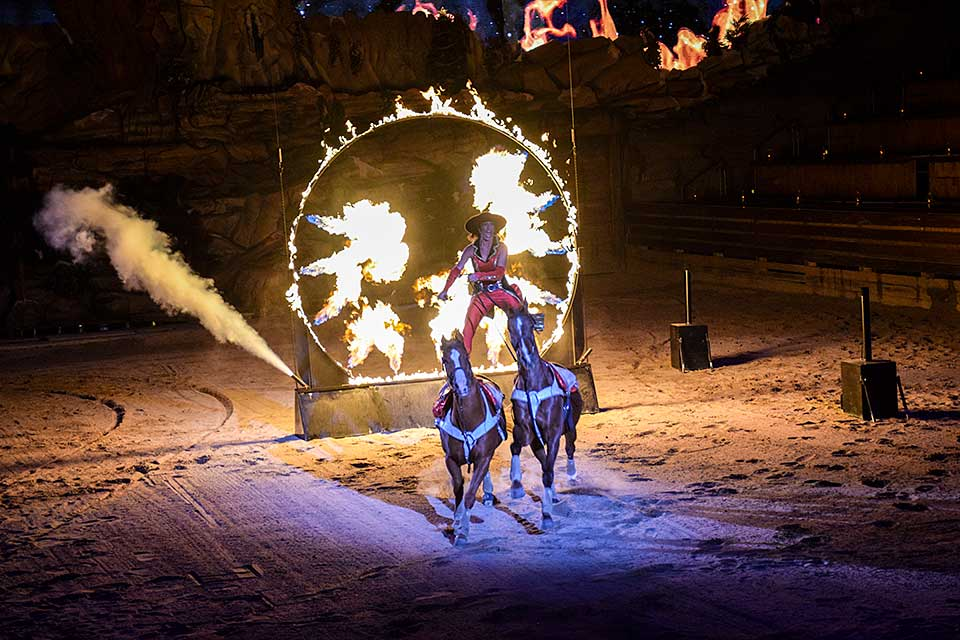 Ring of Fire at Dolly Parton's Stampede